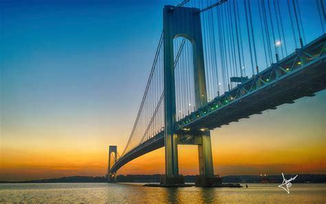 verrazano narrows bridge wallpapers hd wallpapers id