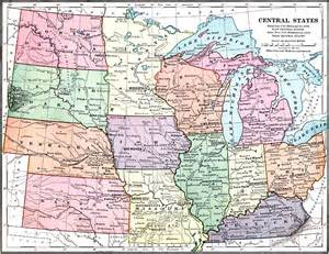 midwest map united states