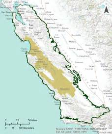 southern california mountains map gama groundwater ambient monitoring and assessment
