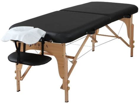 sierra comfort luxe portable massage table sierra comfort preferred portable massage table black