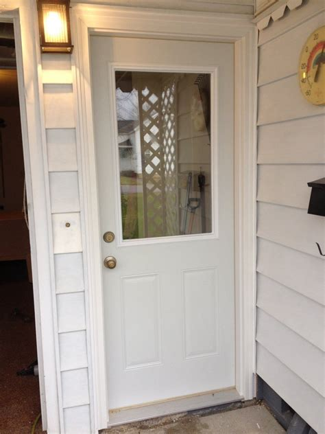 Steel Door Installation by Mastercraft Steel Door Installation Antwerp Ohio