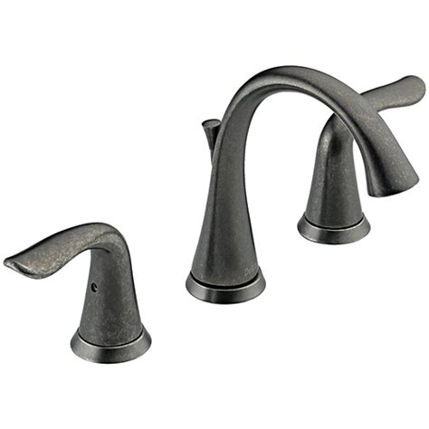 Delta Faucet Lahara by Delta Lahara 3538 Ptmpu Two Handle Widespread Bathroom