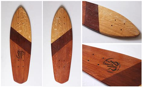 Handcrafted Skateboards - la planche a roues wooden handcrafted cruiser skateboards