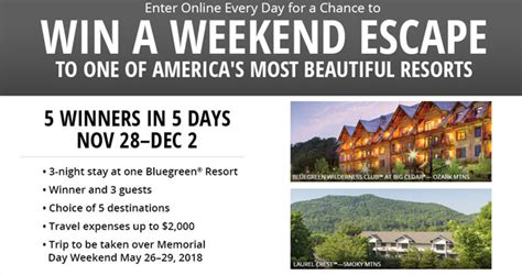 Bass Pro Sweepstakes 2017 - bass pro shops weekend escape sweepstakes