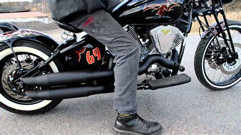 Motorrad Umbau Elektrisch by Yamaha Xvs 1100 Gietl Bikes Elektrische Auspuffanlage