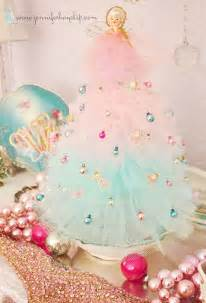 Vintage christmas decor 21 things to do with tulle besides tutus