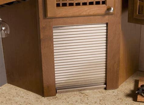 aluminum tambour door  appliance garage