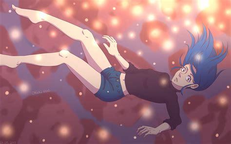 Anime Art Falling Falling Anime Wallpaper By Okichihori On Deviantart