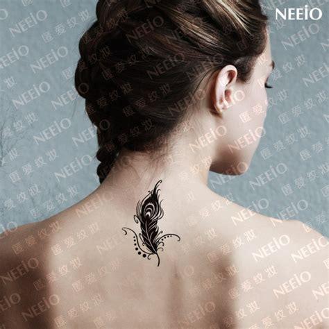 feather tattoo price women men beautiful temporary tattoos slender plume