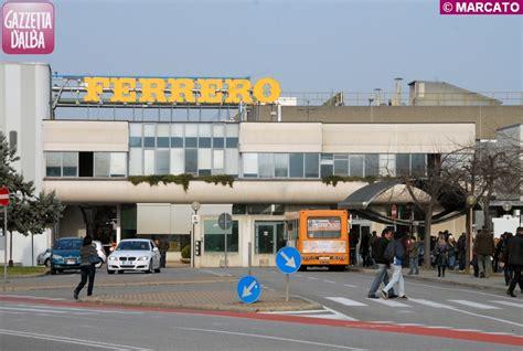 sede della ferrero fulci ferrero in italia ha mantenuto l occupazione