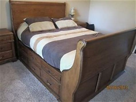 sleigh bed frame on popscreen