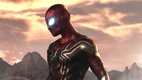 spider man iron spider wallpapers hd wallpapers
