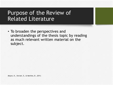 Chapter Ii Review Of Related Literature Sle by Exle Of Review Of Related Literature In A Research Paper 28 Images Review Of Related