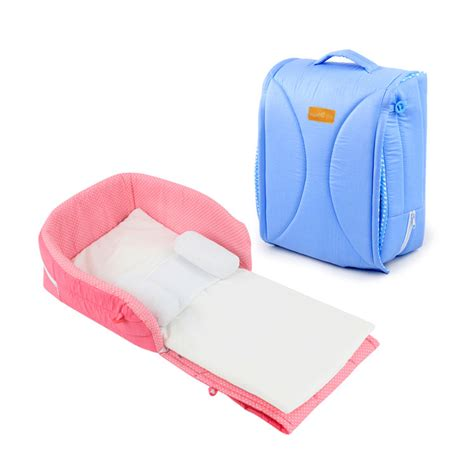 Baby Folding Bed Portable Folding Baby Bed Crib Baby Bed With Pillow Bed