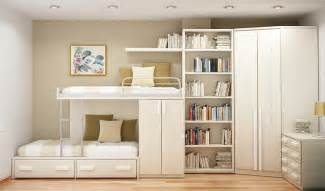 Save Space Space Saving Ideas Small Bedrooms Smart Ideas For Two