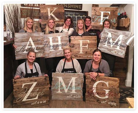 diy wood signs design  wine  paint  board  brush