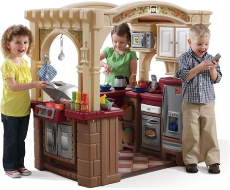 Grand Walk In Kitchen by Step2 Grand Walk In Kitchen Pretend Play And Dress Up