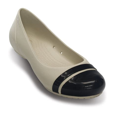 new womens crocs cap toe flat casual soft comfort work