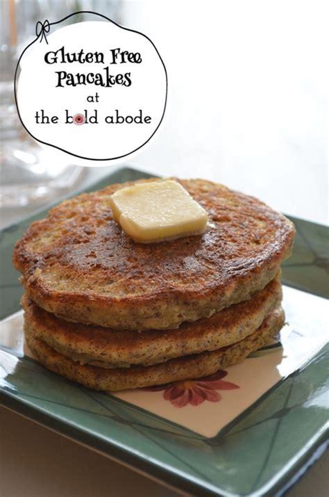 gluten free pancakes make me go yum
