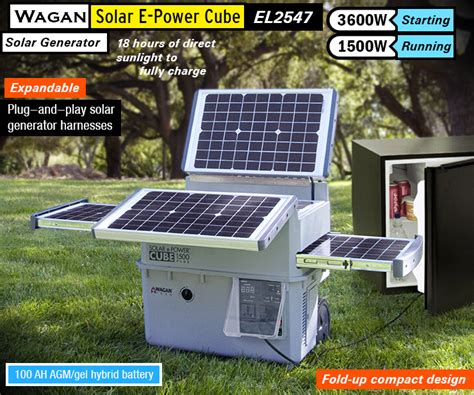 best solar generator complete portable solar power
