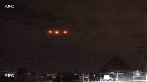 breaking news ufo sighting strange lights in the sky
