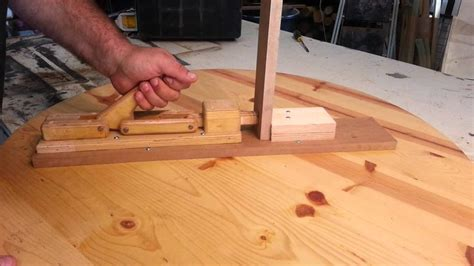 woodworking homemade toggle clamps carpenter