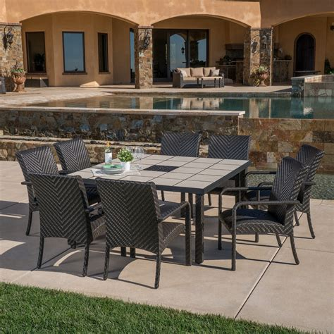mission hills dining room set valenicia 9pc dining collection mission hills furniture