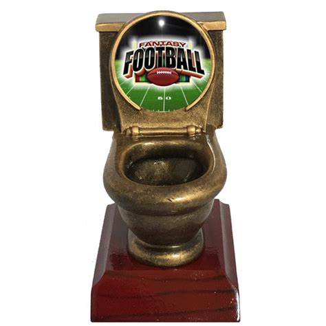Office Football Pool Trophy Football Toilet Bowl Trophies