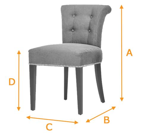 Dining Room Chair Dimensions Napoli Denim Blue Dining Chair Funique Co Uk