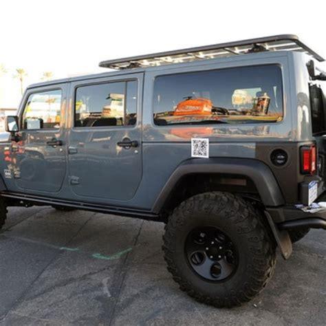 jeep wrangler 7 passenger wagon concept adventure
