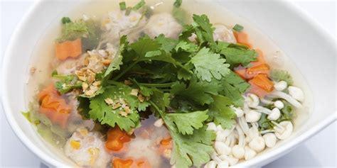 membuat bakso pelangi kuliner menu sahur sehat sup tahu bakso pelangi vemale com
