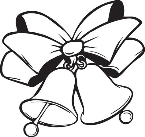 coloring pages for christmas bells free printable christmas bells coloring page for kids 4
