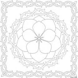Pattern Coloring Pages  Free Printable sketch template
