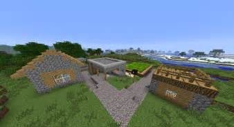 Small Villages by Minecraft 1 2 Seed Small Village With 3 Diamonds