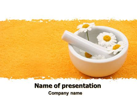 herbal medicine  template  powerpoint