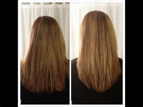 how to cut hair straight across in back how to cut your own hair in long layers easy hair cut