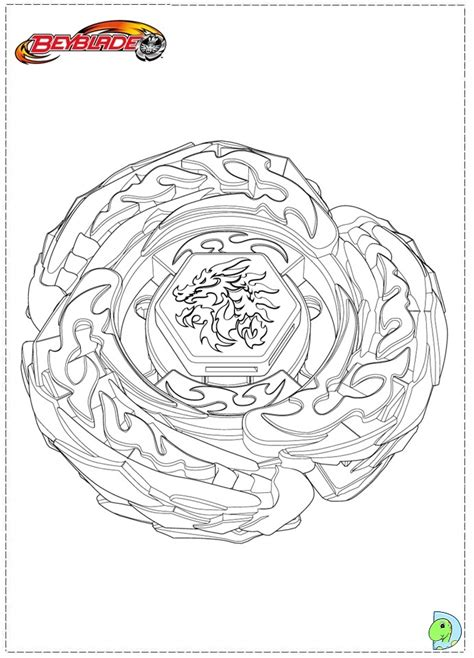 beyblade coloring pages sketch coloring page