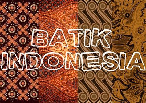 Batik Tulis 10 10 motif batik populer dari berbagai daerah news