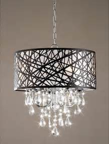 Contemporary Chandeliers Indoor 4 Light Chrome Antique Bronze Chandelier