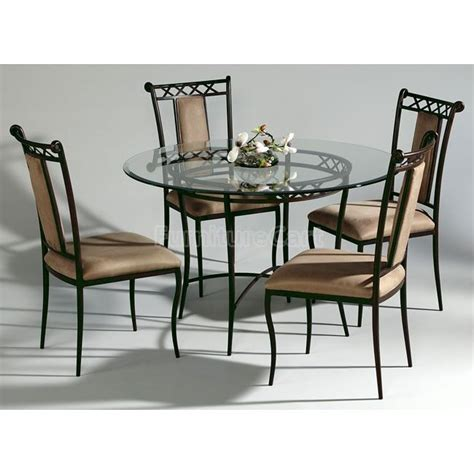 wrought iron dining table set wrought iron dining room sets peenmedia