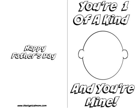 Free Printable Card Templates Fathers Day by Free Printable Fathers Day Card 183 The Typical