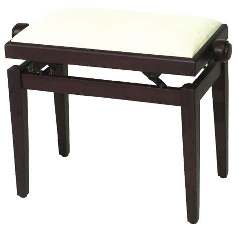 rosewood piano bench musichouse camerton gewapure piano bench fx rosewood matt