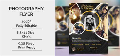 Photography Flyer Template Photography Flyer Template Free