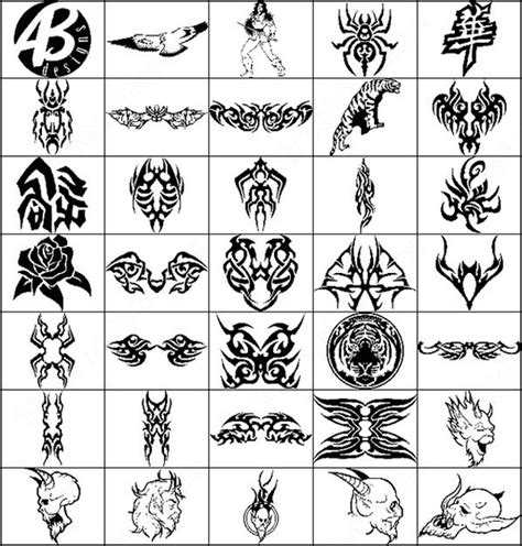 photoshop tattoo brushes clip art free
