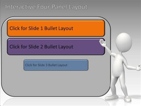 Interactive Panels Toolkit For Powerpoint Animated Powerpoint Templates Free 2007