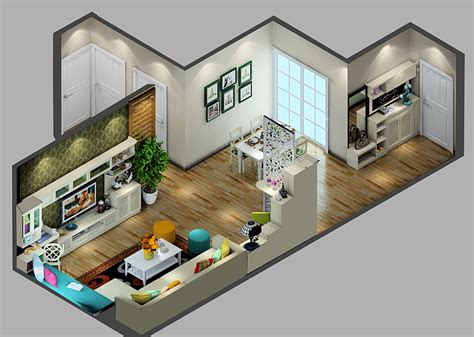 modern home design korea korean style house interior design sky view 3d house