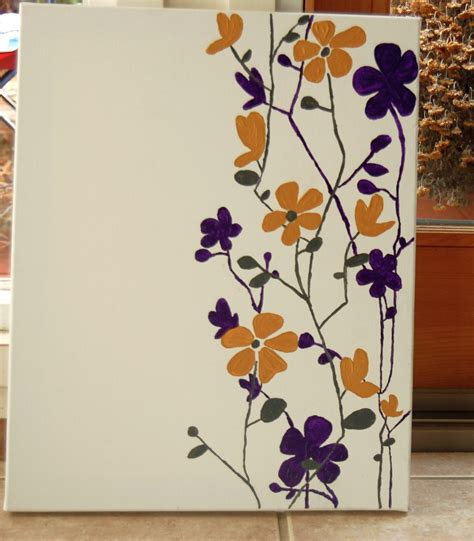 painting ideas easy 20 simple canvas painting ideas you can do on your own