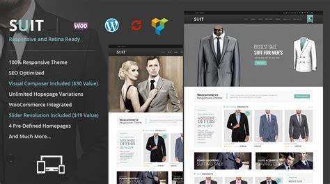 suit wordpress woocommerce theme themes templates