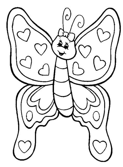 coloring pages of butterflies and hearts kelebek boyama sayfası okul 246 ncesitr l preschool