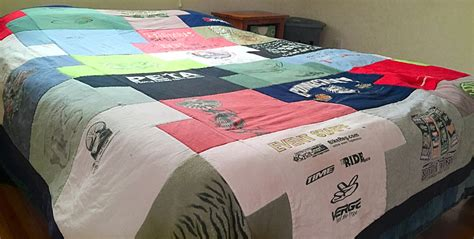 Modern T Shirt Quilt by T Shirt Tessalations T Shirt Quilt Pattern Interlocking